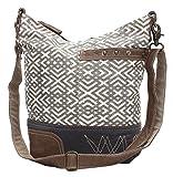 Myra Bags X Design Upcycled Canvas Shoulder Bag S-0951