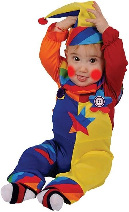 Dress Up America Disfraz Colorido de Payaso Dulce Cutie: Amazon.es ...