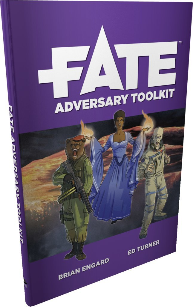 Fate Adversary Toolkit (Fate Core) FLAHC EHP0034