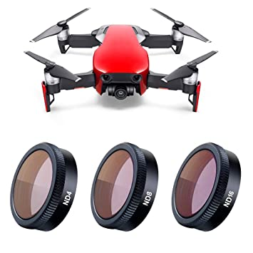 8df0acd55e9 Buy KUUQA Lens Filter for DJI Mavic Air, Camera Lens Multicoated Filters Mavic  Air Accessories Set of 3 (ND4, ND8, ND16) Online at Low Price in India ...