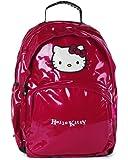 Hello Kitty Sac à Dos Enfants avec 2 Compartiments 45 cm Rose (fuchsia)