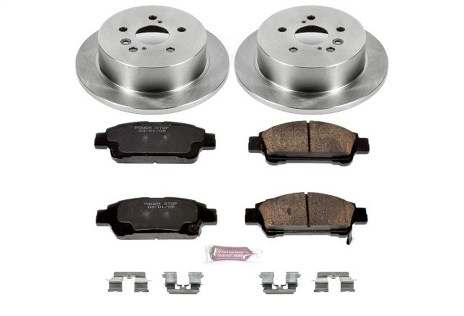 Autospecialty (KOE5498) 1-Click OE Replacement Brake Kit
