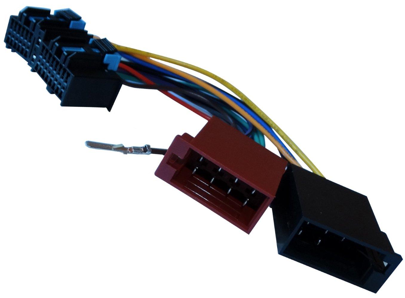 Adaptador cable enchufe ISO para radio de coche vehiculos C11929 AERZETIX