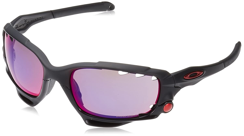 c8b6f4c096499 Amazon.com  Oakley Men s Racing Jacket Non-Polarized Iridium Wrap  Sunglasses