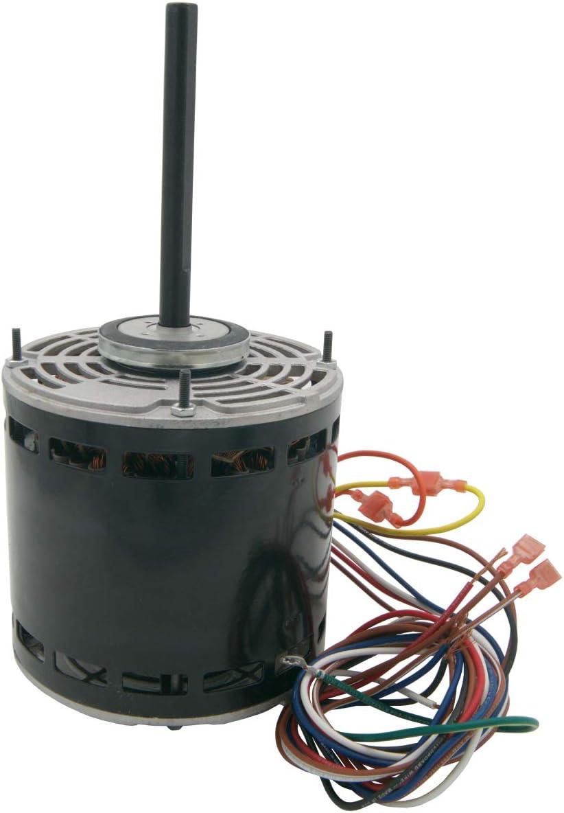 Supplying Demand W51-12BJA3-02 HVAC Blower Fan Motor 1/2 HP 1 Phase 3 Speed 208/230V 1075 RPM