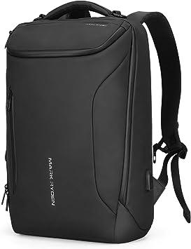 MARK RYDEN Mochila Impermeable para Hombres portátiles. Mochila Moderna para Viajes universitarios al Aire Libre con Puerto USB y portátil de 17.3 Pulgadas: Amazon.es: Electrónica