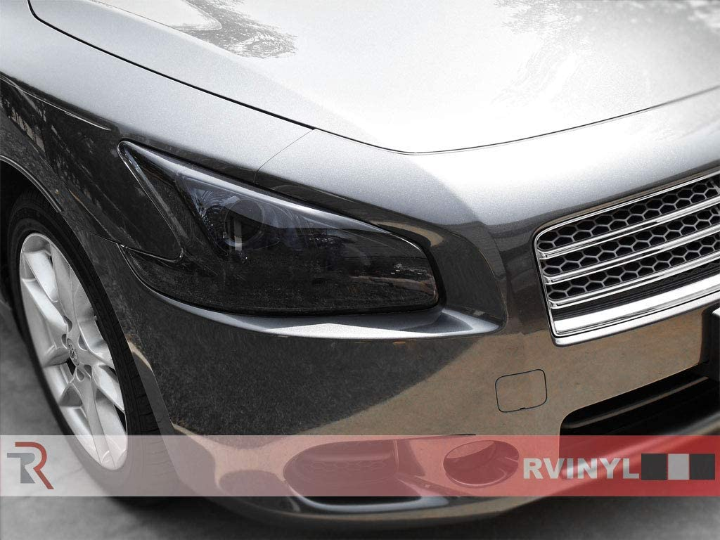 Rvinyl Rtint Headlight Tint Covers for Nissan Maxima 2009-2014 Application Kit