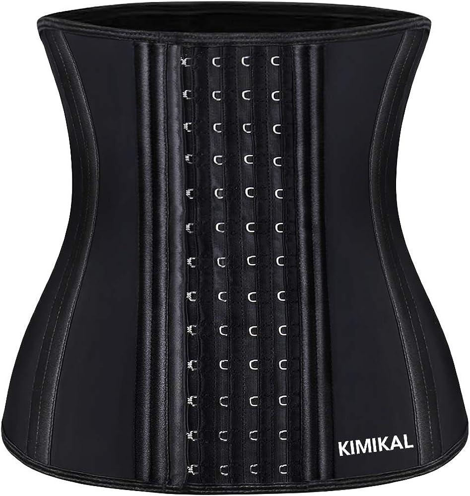 Kimikal Waist Trainer for Women Weight Loss- Latex Cincher Shaper Slimmer Corset