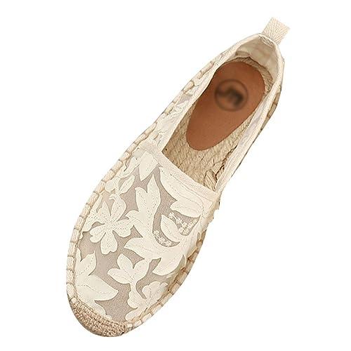 Xinwcang Mujer Alpargatas Plana Clásica Casual Zapatillas de Lona Loafers Moda Zapatos Planos: Amazon.es: Zapatos y complementos