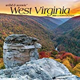 West Virginia Wild & Scenic 2020 7 x 7 Inch Monthly Mini Wall Calendar, USA United States of America Southeast State Nature