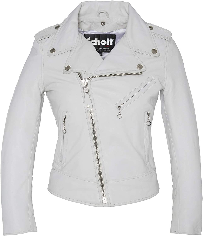 Schott Perfecto Biker Jacket Without Belt Giacca Donna