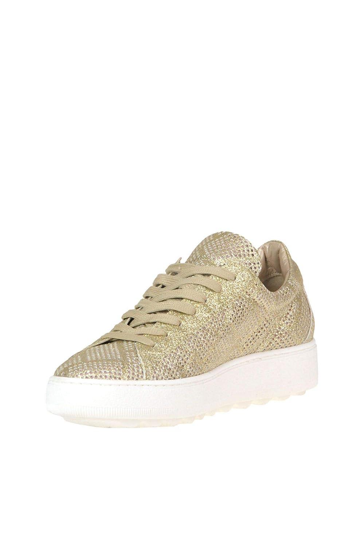 Philippe Model scarpe da ginnastica Donna Donna Donna MCGLCAK000005101E Pelle oro f50f7b