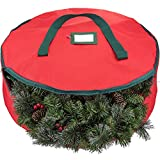 Zober Premium 600D Polyester Wreath Storage