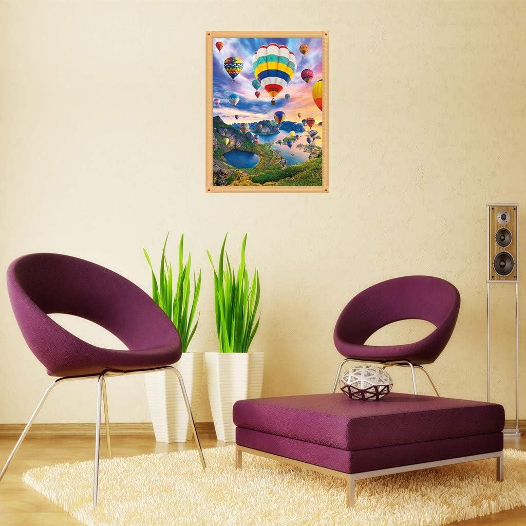 kit punto croce pittura diamante 5d fai da te con strass Pittura a mosaico per adulti palloncino ad aria calda decorazione per la casa forniture artistiche su tela 30 x 40 cm adesivi da parete