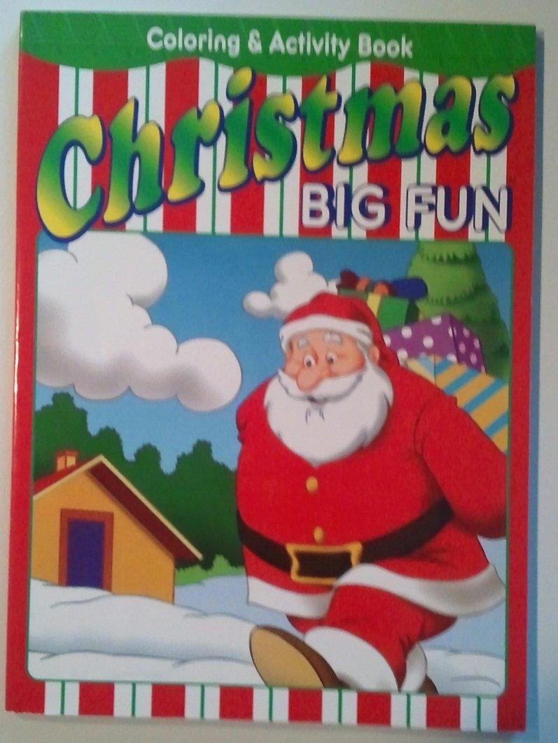 Download Christmas Big Fun Coloring & Activity Book (Better Than Brocolli Books) pdf