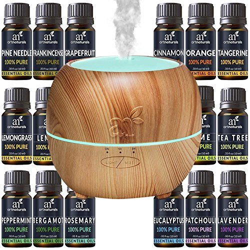 Cheap  ArtNaturals Aromatherapy Essential Oil and Diffuser Gift Set - (150ml Tank &..