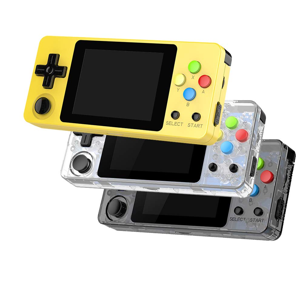 Ocamo Game Console, LDK Second Generation Open Source Version Mini Handheld Family Retro Games Console Transparent Black by Ocamo (Image #3)