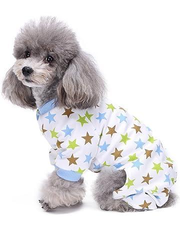 09c46c720e506 S-Lifeeling Dog Costumes Outfit Star Pattern Comfortable Puppy Pyjamas Soft  Dog Jumpsuit Shirt Best