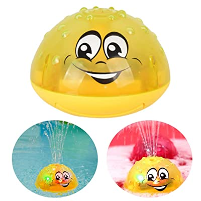 B bangcool Kids Bath Toy Electric Spray Water Toy Shower Toy Sprinkler Toy with Light: Kitchen & Dining