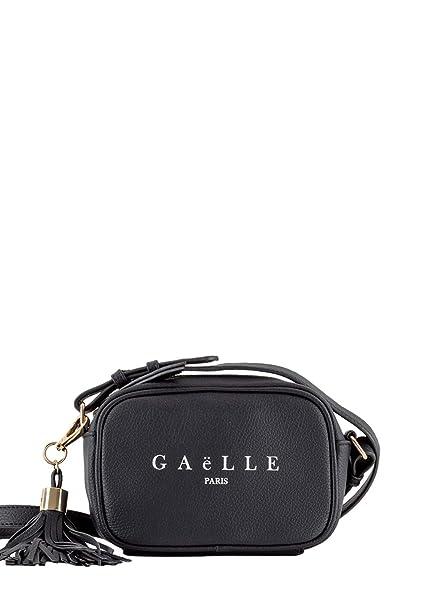 b9a756b4de Gaelle Paris Borsa tracollina GBDA300 nero: Amazon.it: Abbigliamento