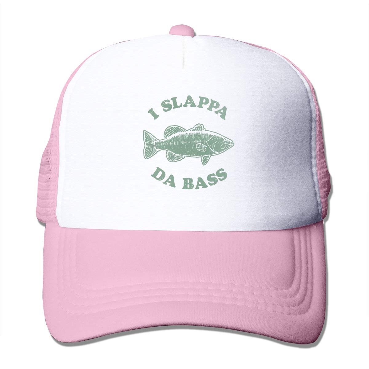 I Slappa Da Bass Adult Trucker Baseball Mesh Cap Adjustable Hat for Men Women