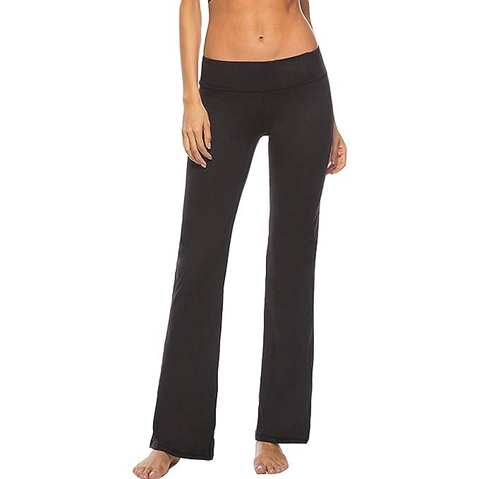 Moda Colores De Mujer Deporte La Pantalones Sólidos Basic wtAPqWvnTZ