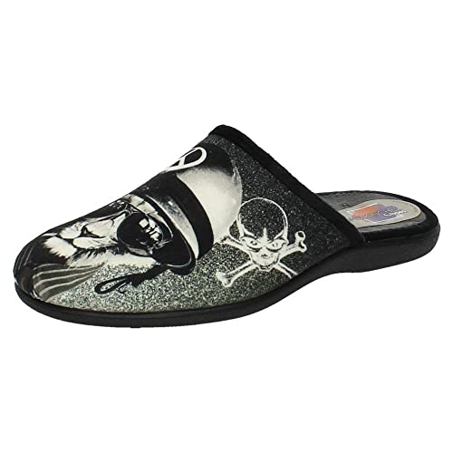 MORANCHEL 9039 Chinela DE CASA Hombre Zapatillas CASA Negro 42: Amazon.es: Zapatos y complementos