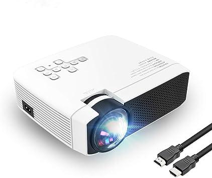 Proyector de vídeo Compatible con 1080P HD 180