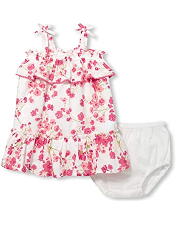 8dc2eaca1 The Children's Place Baby Girls Graphic Sleeveless Floral Bloomer Dress Set