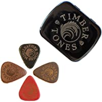 Lederen Tones Mini Tin van 4 Ukulele Picks, LEAM-MT-4