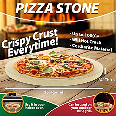 Culinary Couture Pizza Stone from Culinary Couture, LLC