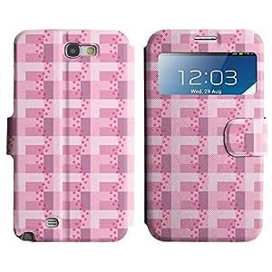 LEOCASE patas lindas Funda Carcasa Cuero Tapa Case Para Samsung Galaxy Note 2 N7100 No.1006359