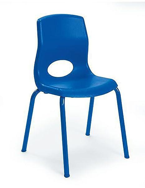 Wondrous Amazon Com 14 In Kids Heavy Duty Chair In Blue Kitchen Unemploymentrelief Wooden Chair Designs For Living Room Unemploymentrelieforg