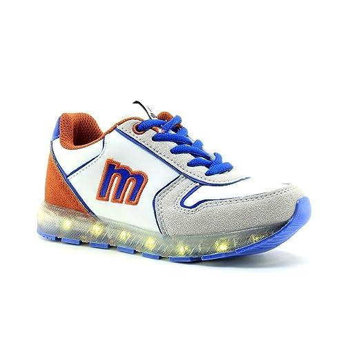 Mustang Zapatillas con Leds Carga USB. Cable incluído: Amazon.es: Zapatos y complementos