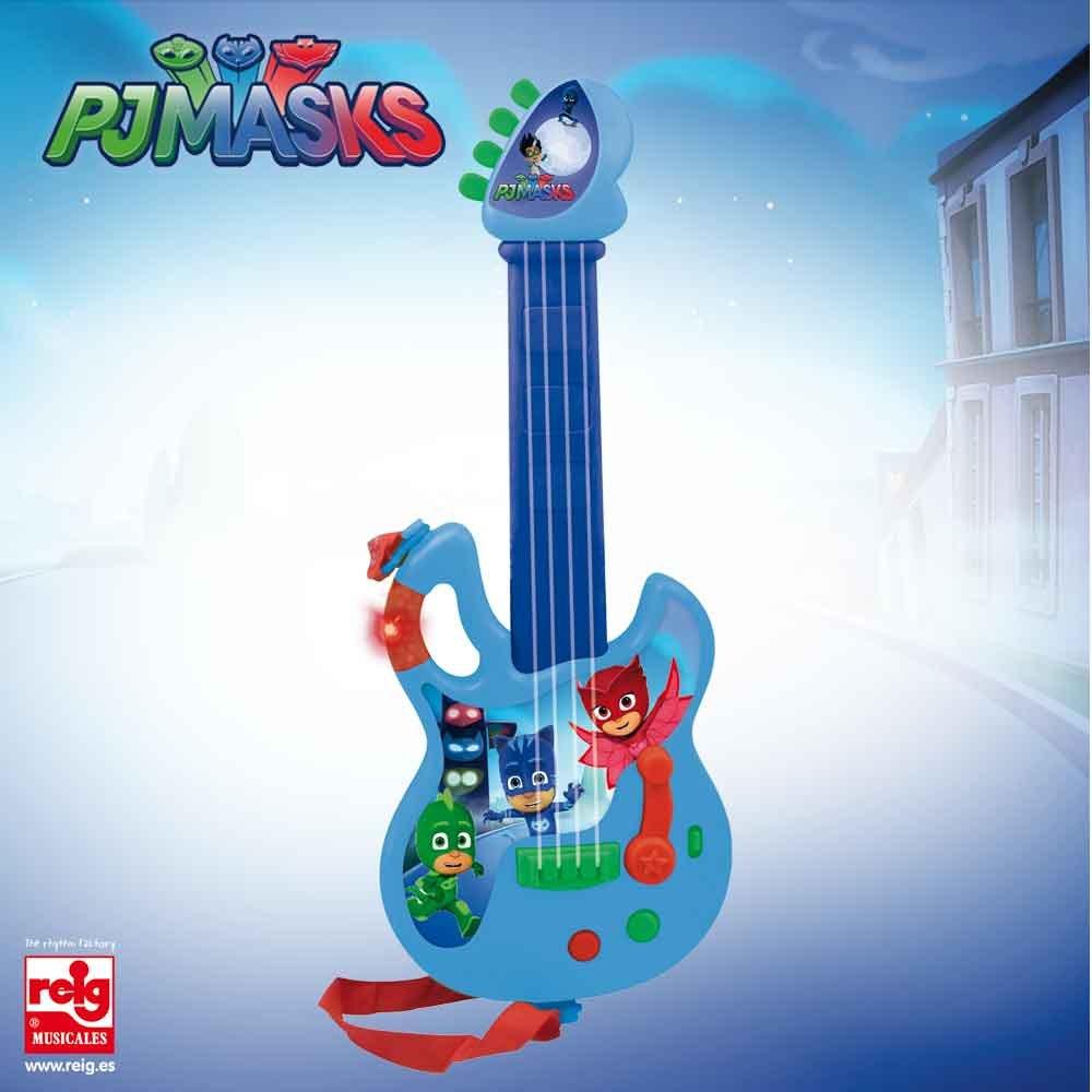 CLAUDIO REIG PJ Masks Guitarra Infantil 2874.0: Amazon.es: Juguetes y juegos