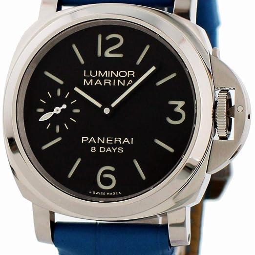 Panerai Luminor Mari Reloj De Viento Automático Pam00510 para Hombres: Panerai: Amazon.es: Relojes