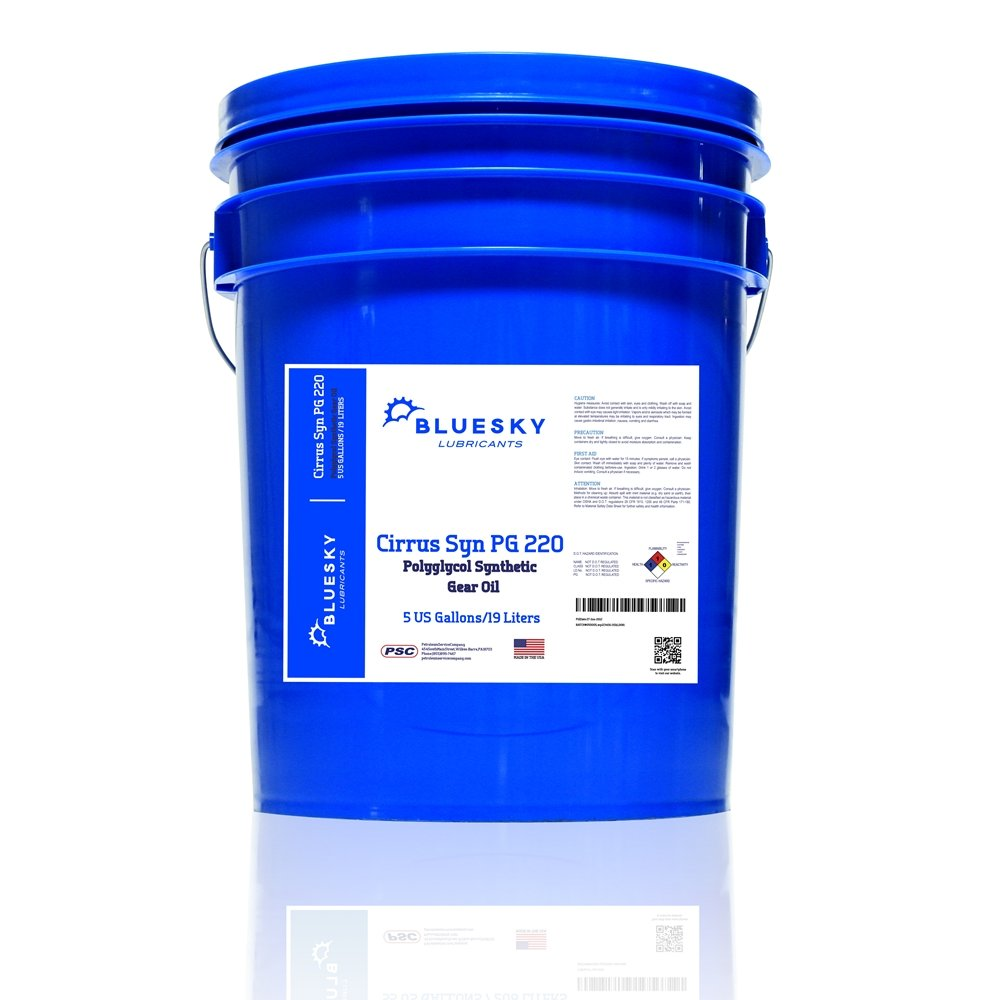 BlueSky Cirrus Syn PG 220 - 5 gal. pail