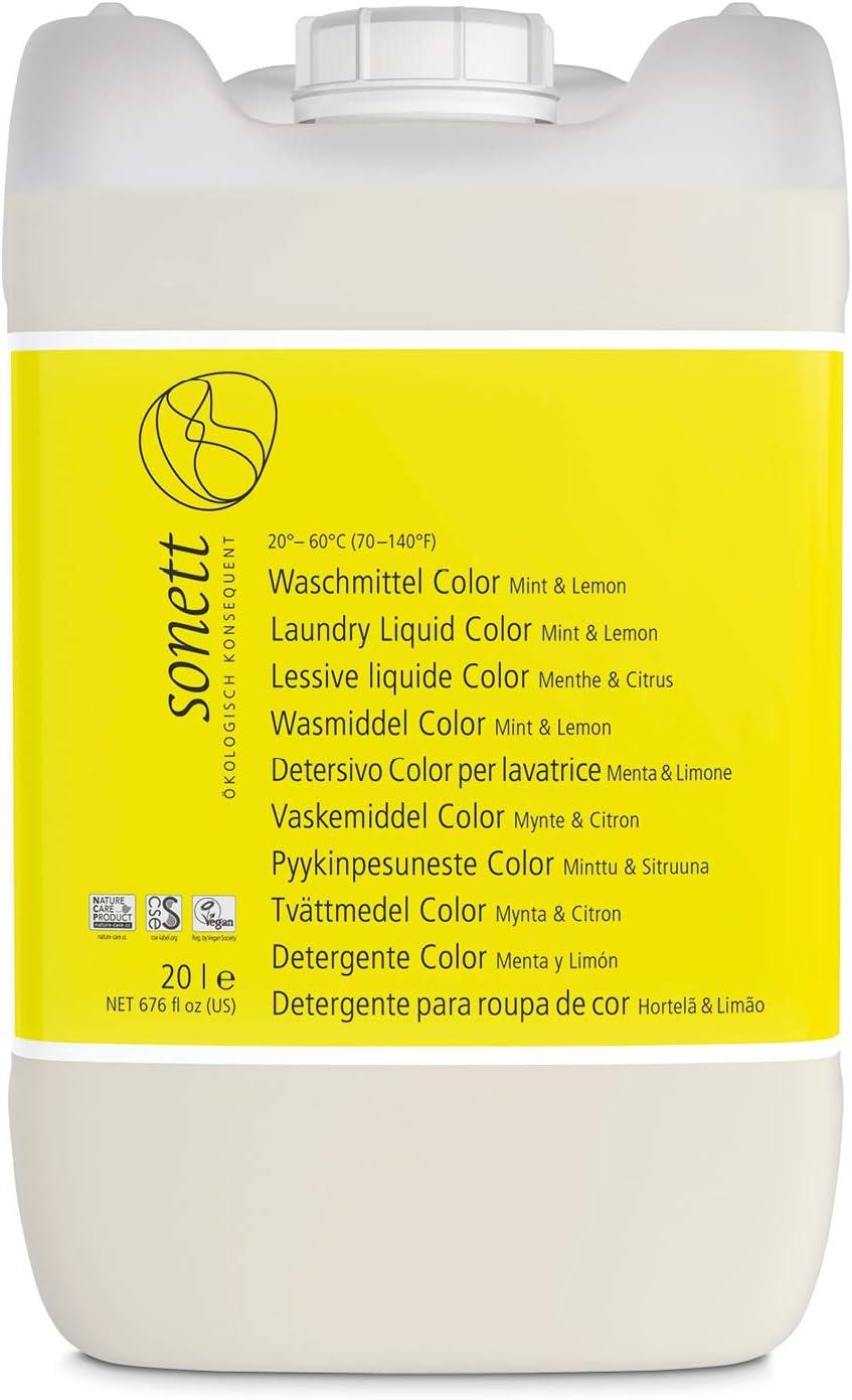 Soneto Detergente Color: para exterior de y ropa deportiva, con ...
