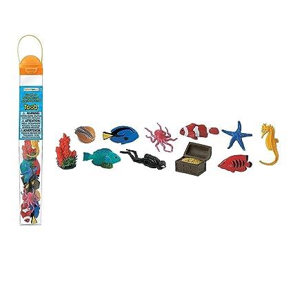 971525ea76729d Amazon.com  Safari Ltd Coral Reef TOOB - Includes 11 BPA
