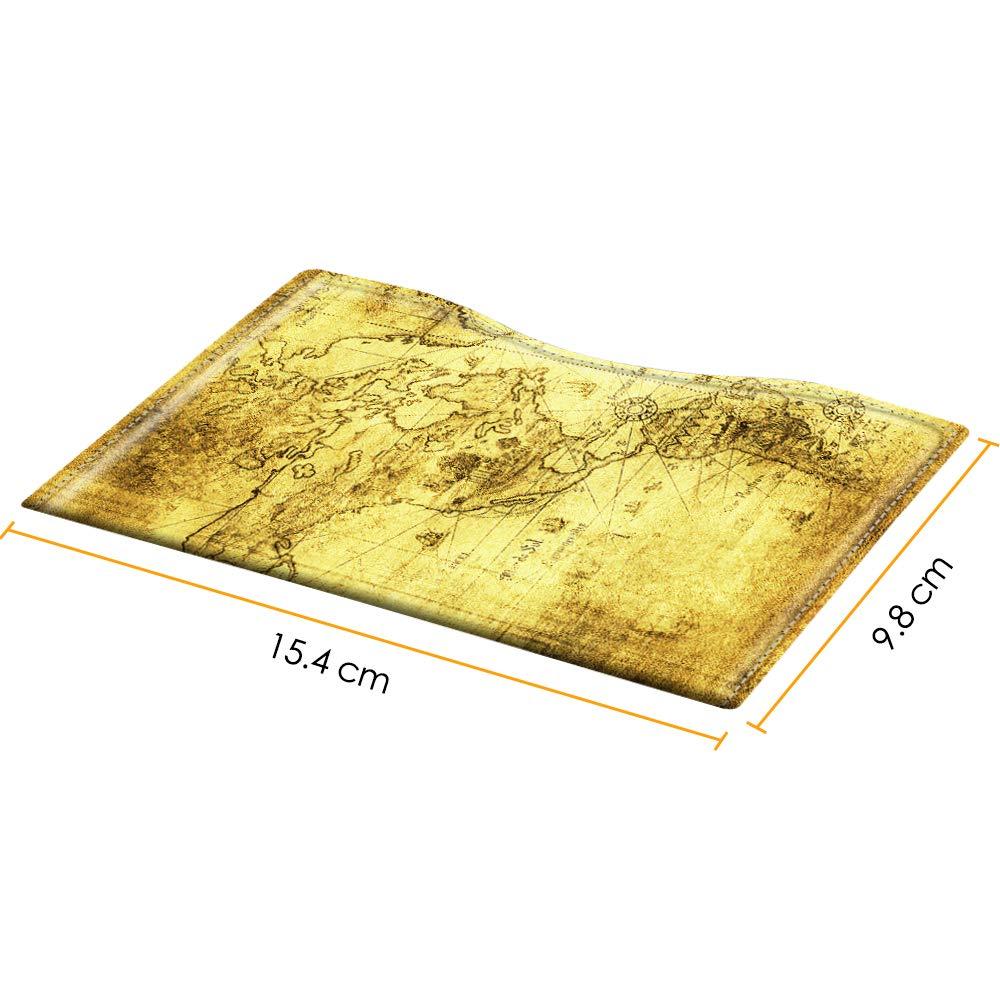 Fintie Porte passeport Marron fonc/é Slim /étui en cuir synth/étique Voyage Protecteur Pochette /étui de protection pour passeport