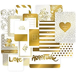Project Life Golden Themed Cards