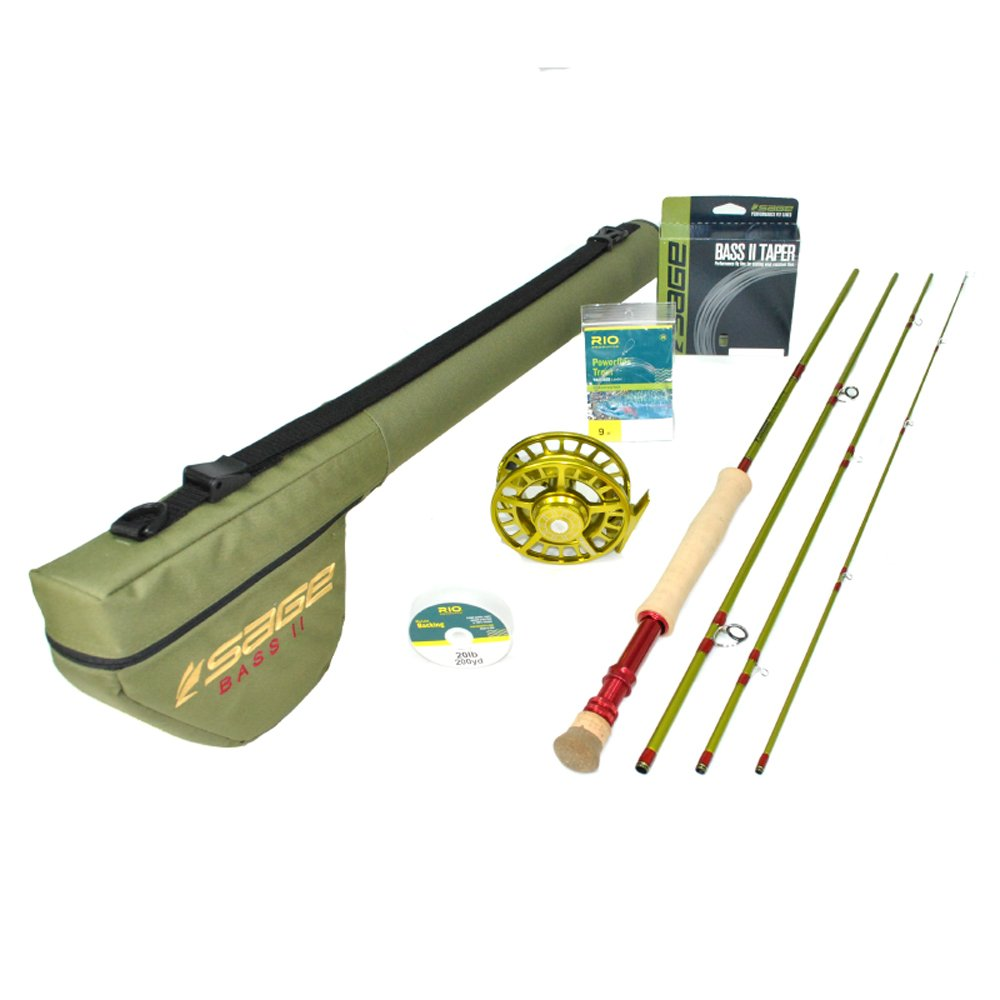 Sage Bass II Largemouth Fly Rod Outfit w/Sage Spectrum Reel (7'11'', 330gr) by Sage