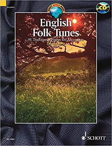 English folk tunes +CD (88 pièces traditionnelles) --- Accordéon