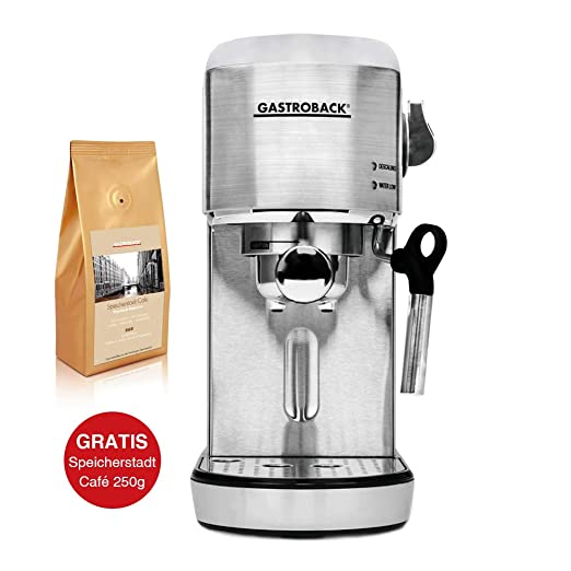 Gastroback Design Espresso Piccolo - Máquina de café ...