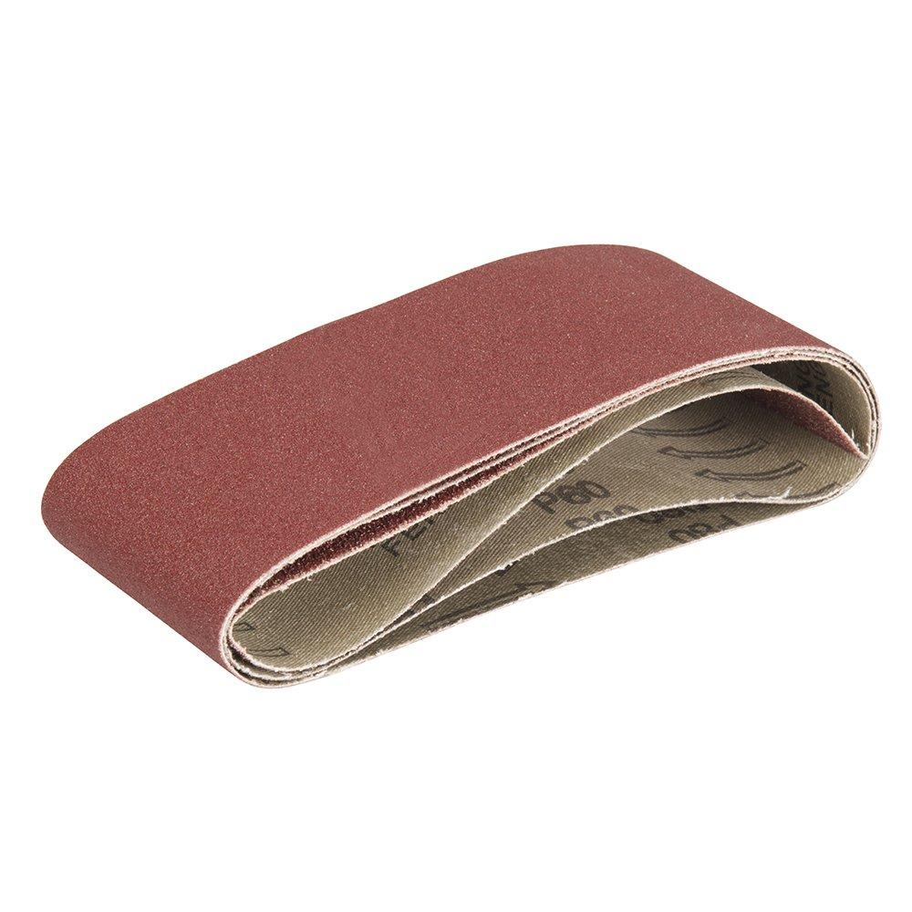 Triton 161553 TCMBSCPK Bandas de lija grano 40//60//80, 3 pzas 3 pzas Bandas de lija para lijadora de banda compacta Triton