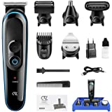 Hair Clippers for Men Beard Trimmer Nose Trimmer 5 in 1 Rechargeable Professional Cordless Clippers Detail Trimmer Haircut Ha