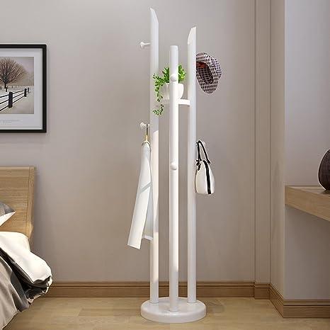 Amazon.com: Xiaolin - Perchero de madera maciza estilo ...