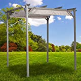 Garden Winds 8 x 8 Pergola Replacement Canopy Top Cover – RipLock 350 Review
