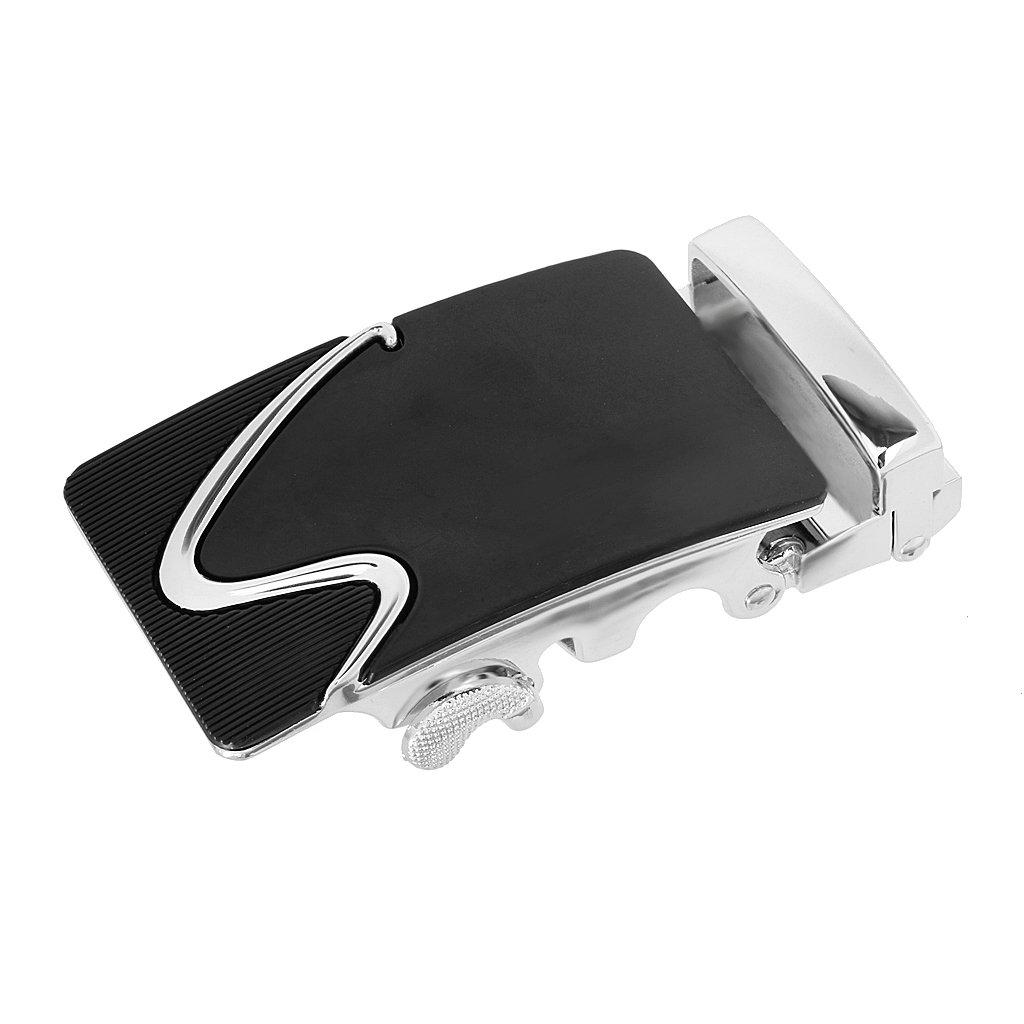 Gazechimp Hebilla de Cintur/ón de Trinquete Autom/ático de Moda Accesorio de Reemplazo Regalo para Hombres de Aleaci/ón