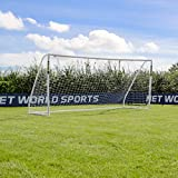 FORZA Match Soccer Goal Posts (Choose Your Size - 5 x 4 - 16 x 7) - Give A Major League Touch To Little League Soccer With These High Quality PVC Goals [Net World Sports]